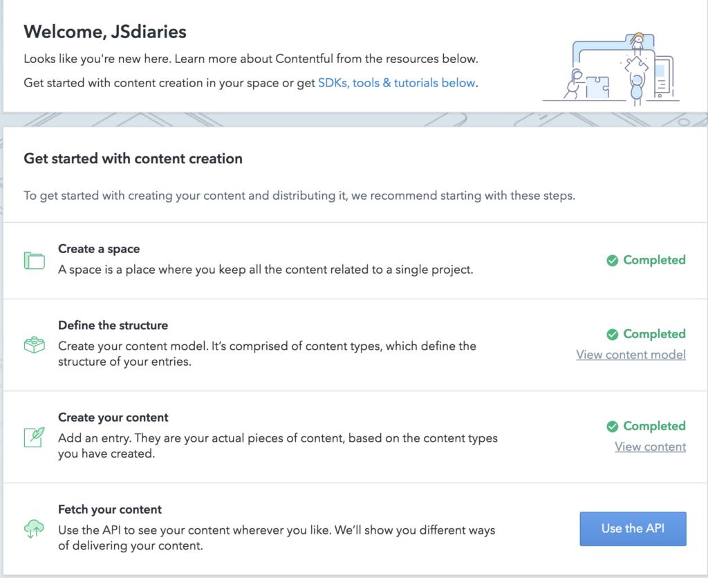 Contentful API Reactjs